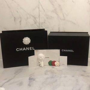 NEW PERFECT Authentic Chanel Magnetic Box Gift Set d555248d1